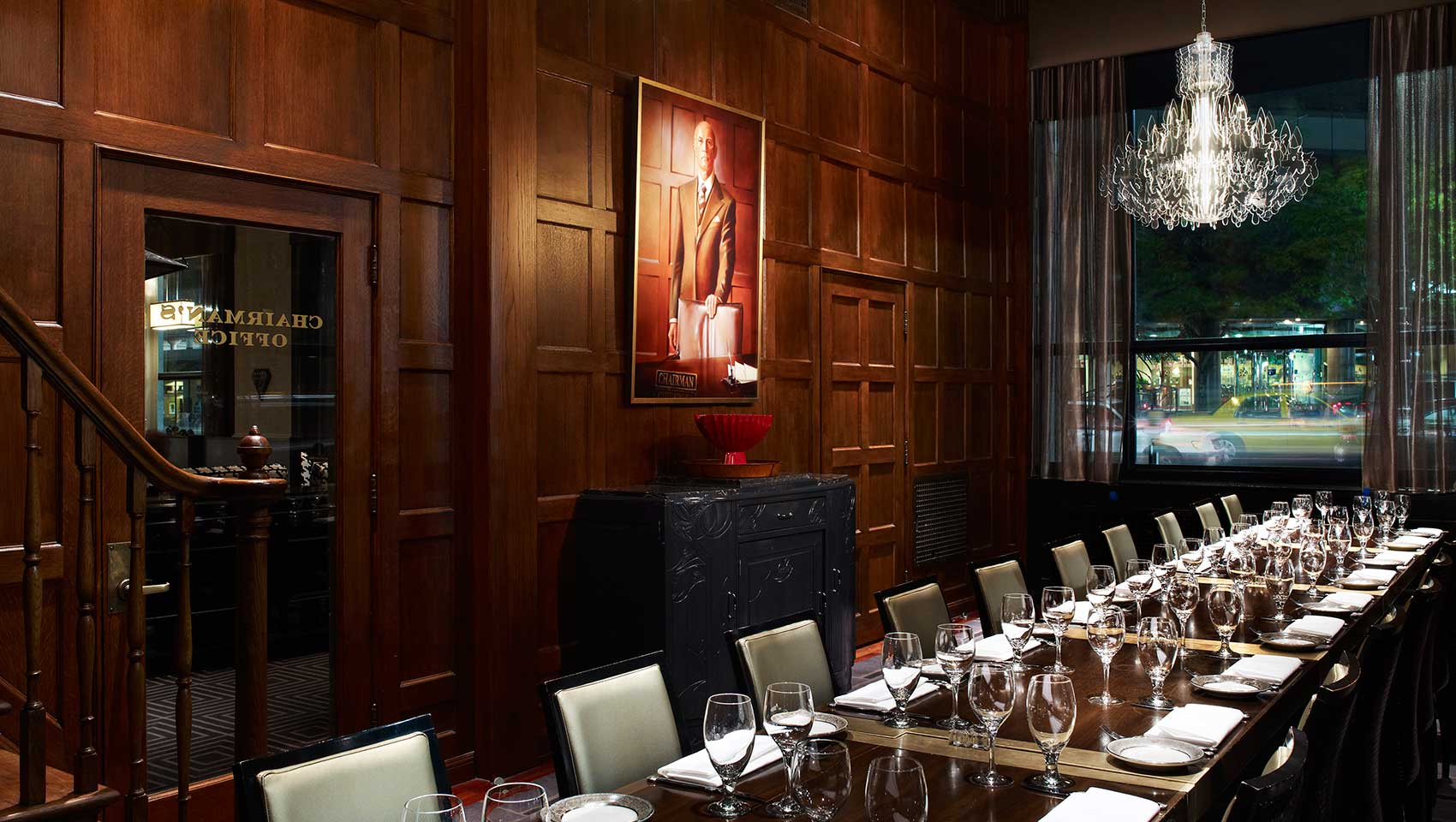 private dining at Kimpton Hotel Monaco Salt Lake City