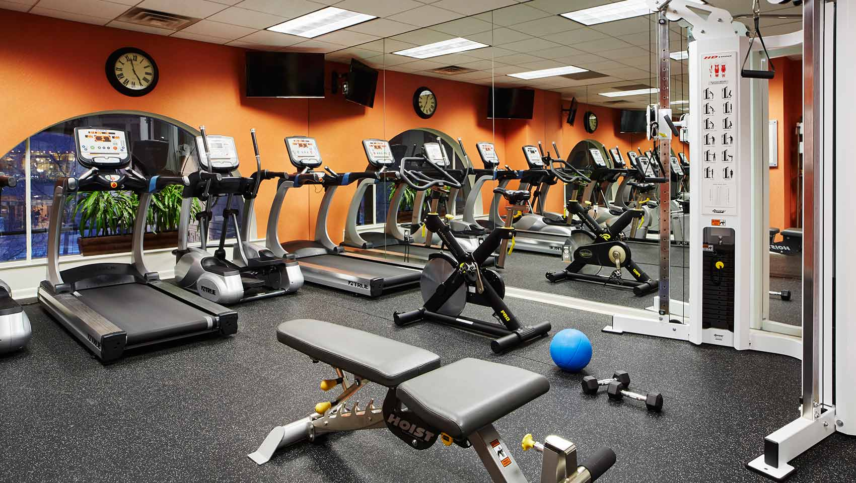fitness center at Kimpton Hotel Monaco Salt Lake City