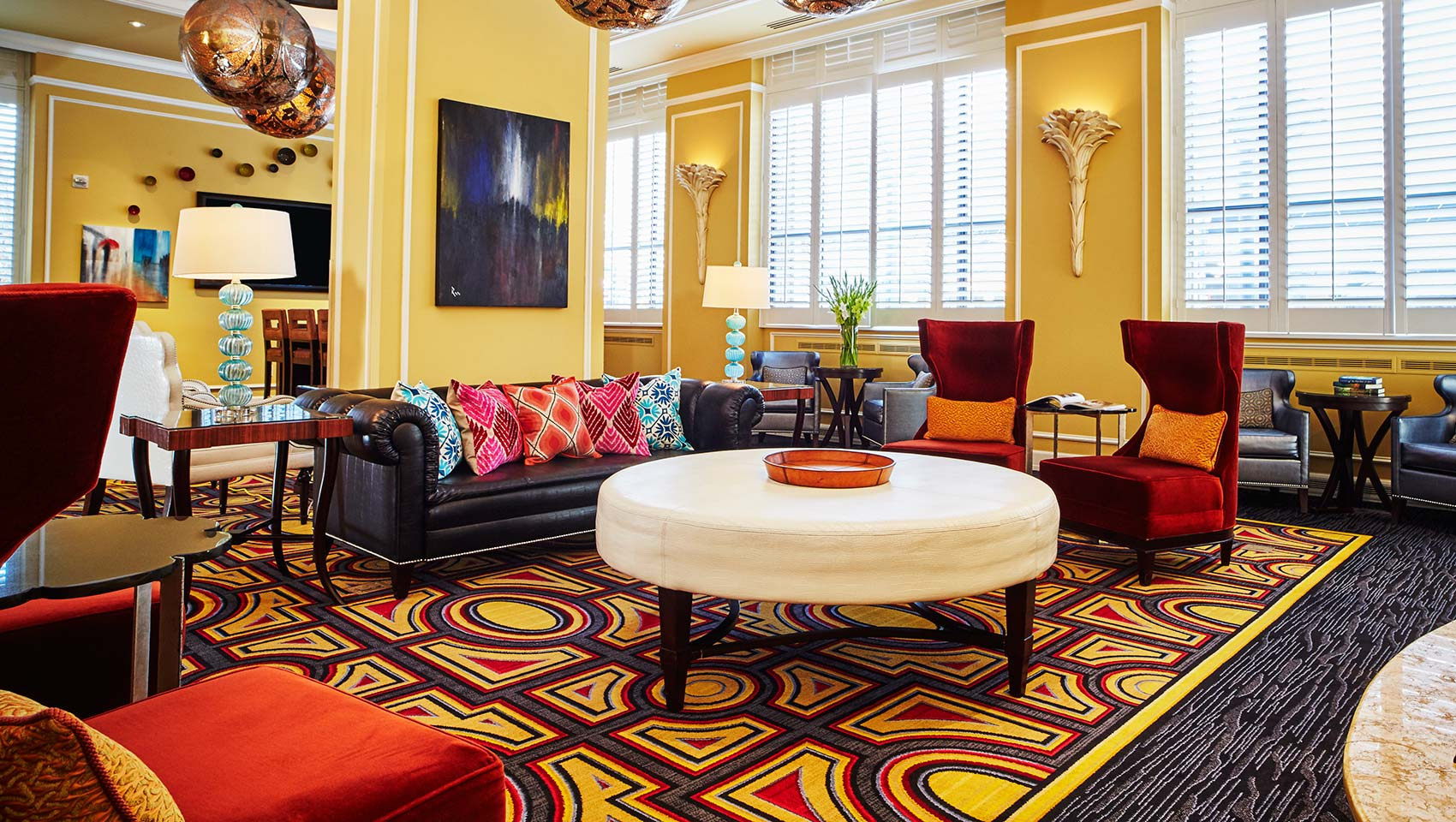 Kimpton Hotel Monaco Salt Lake City lobby