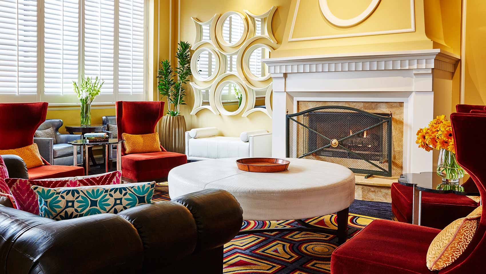 Kimpton Hotel Monaco Salt Lake City lobby seating