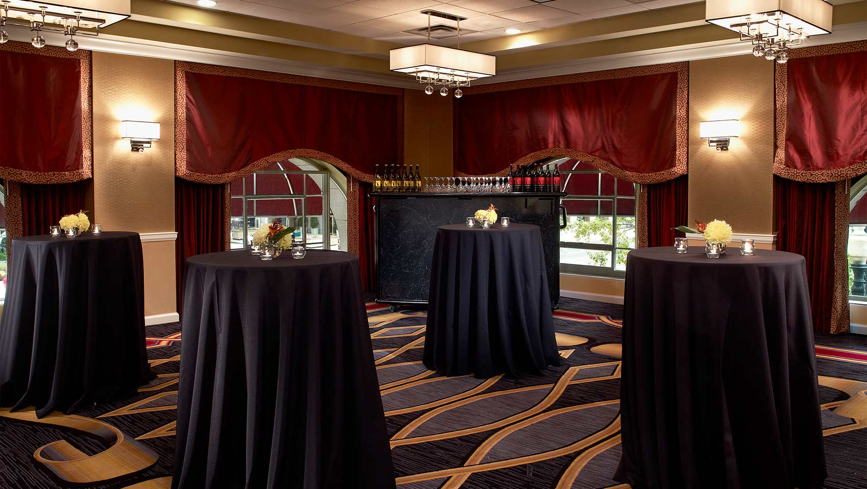 small event breakout space at Kimpton Hotel Monaco Salt Lake City