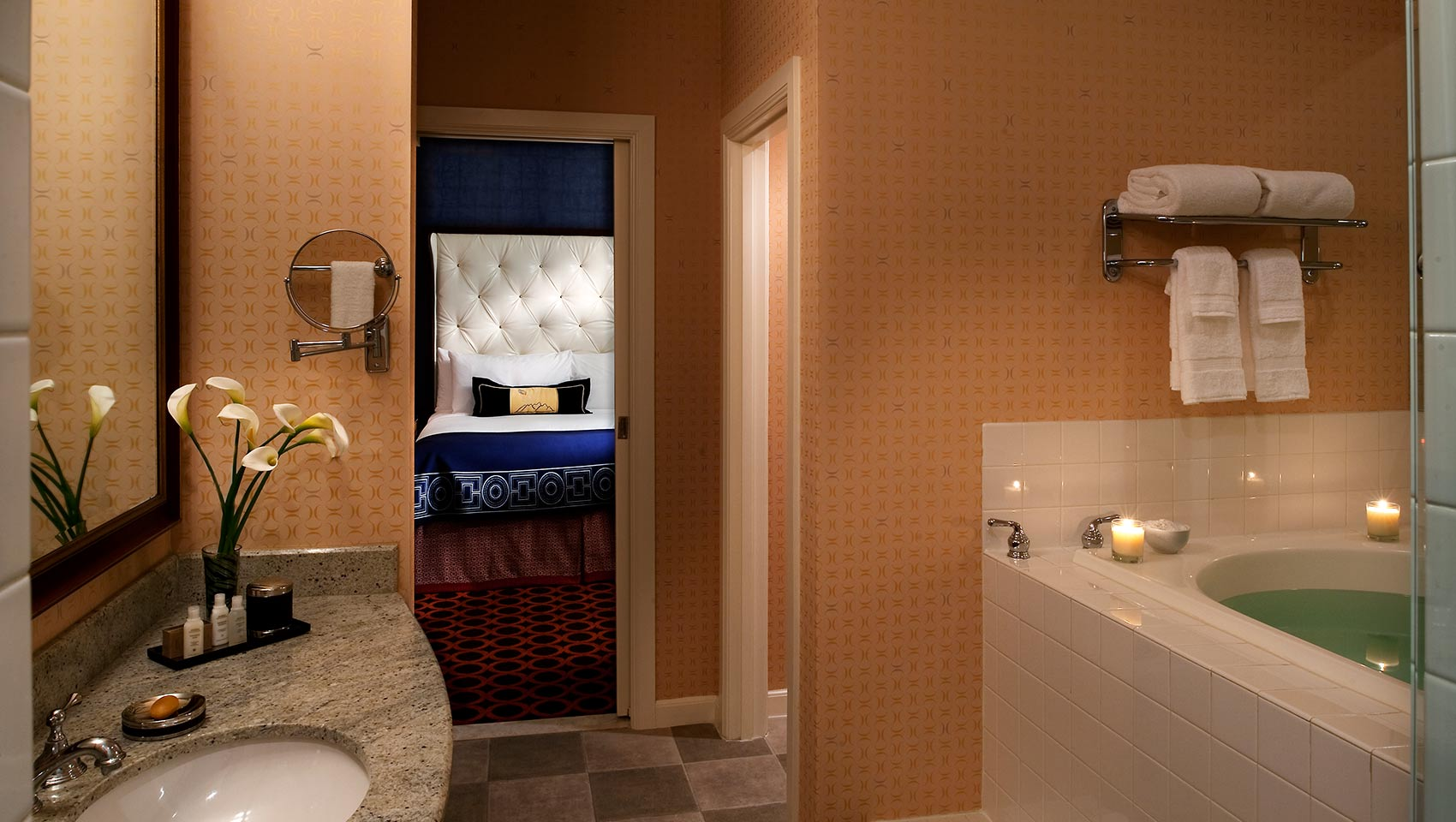 Kimpton Hotel Monaco Salt Lake City suite bathroom