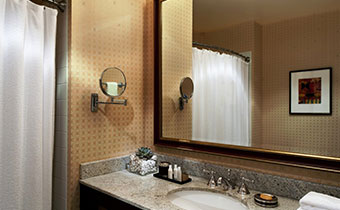 kimpton salt lake city hotel monaco king guestroom bathroom