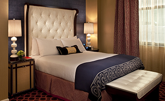 Deluxe Monaco Guestroom with one Queen or King Bed